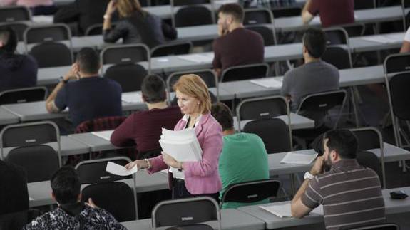 Aprobados un 60% de los aspirantes presentados a las pruebas de conocimiento general y específico